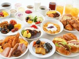 和洋30種類以上!料理長自慢の朝食バイキングがバリューアップ!