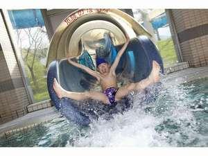 【年中遊べる室内温水プール】ウォータースライダーは子供に大人気!!温水プール内にあります!!!