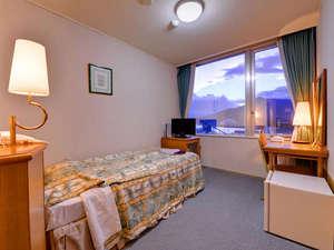 *スタジオツイン(客室一例)/シングルベッド1台とエキストラベッド1台利用で2名でご利用できるお部屋。