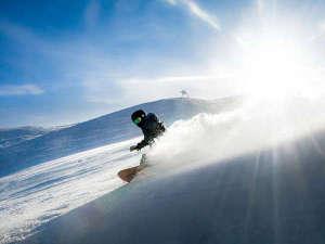 アップ神鍋すぐそこ!スキー・スノボーは神鍋へ♪