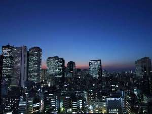 【ツインルーム高層階からの夜景】