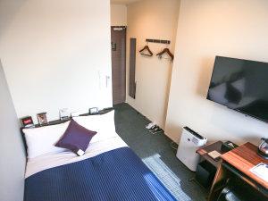 ◆シングルルーム◆全室スランバーランドベッドを完備しております。2名様ご利用時は添い寝となります。