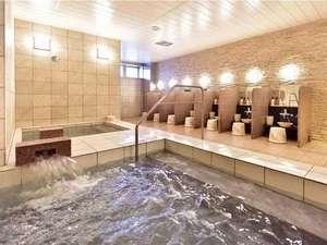 自慢の大浴場♪サウナ・水風呂があります。
