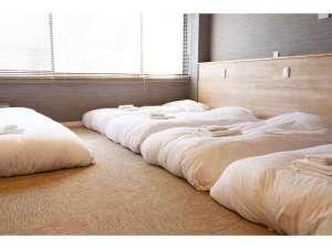 ■2階 ヤエ■ ベッドスペース  35平米 リビング ユニットバス キッチン 禁煙