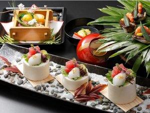 ・季節の会席【冬】料理の一例