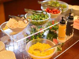 健康的な食事を応援します!サラダバーもございます!