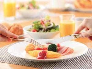 レストラン「ハスカップ」の朝食ブッフェ実演コーナーのオムレツイメージ