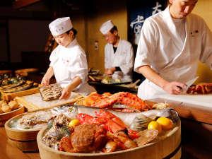 炉端焼レストラン「志古津」赤い海鮮フェアイメージ