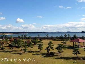 松島の眺望(2階リビングより)