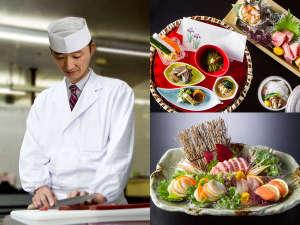 枇杷阪料理長が作り出すお料理の数々をご堪能下さい