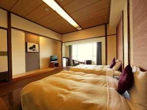 【オーシャンビュー】3階モダンツインルーム・喫煙タイプ