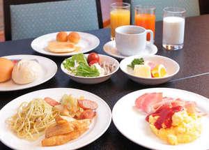 朝食和洋バイキング7:00~10:00(最終入店9:45)
