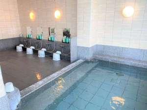 ◆ラジウム人工温泉大浴場「旅人の湯」男女別 ◆最上階  ◆ご利用時間…5:00~10:00/15:00~26:00