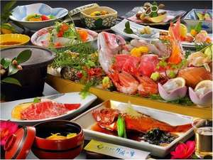 月浜海食膳の一例