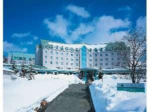 【ホテル外観】白金四季の森ホテルパークヒルズ(1月撮影)