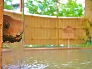 【本館2階温泉露天風呂】和風露天風呂 大浴場に隣接しております