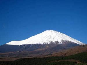 天恵からの富士山