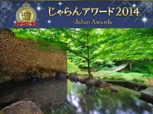 川の湯・岩露天風呂(昼) ※豊沢川と木々に囲まれて、森林浴をしながら温泉をご満喫いただけます