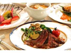 和牛ステーキ♪フレンチフルコース料理一例