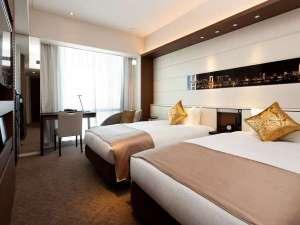 ツインルーム 24平米(ベッド幅115cm×2台)