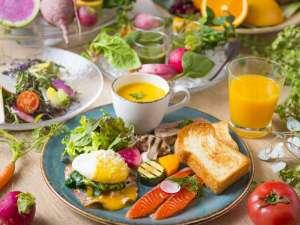 【朝食】洋食プレート
