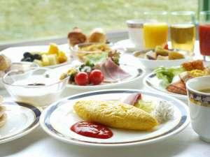 !☆ル・トリアノン ふわふわのしらすオムレツなど種類豊富な和洋モーニングブッフェ♪
