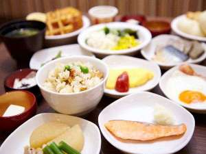 ◆朝食和洋バイキング一例
