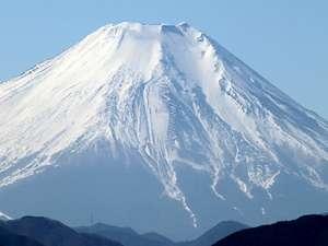 高尾山から見た富士山