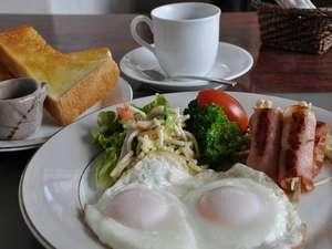◎朝食 自慢の日替わり朝食(洋食 一例)