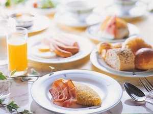 【料理】朝から元気に♪和洋ビュッフェの朝食(イメージ)♪7時~9時半