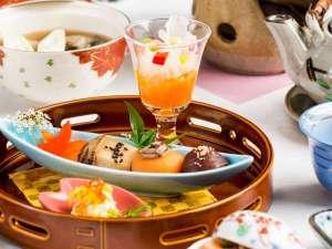【旬彩和膳】前菜一例・季節に合わせた彩り豊かな料理をご用意いたします