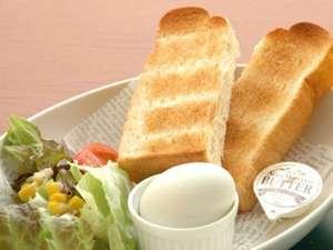 プロントの朝食セット ~トースト~