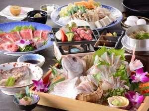 【平成29年度・冬】鯛と県産牛のえひめ会席:全景