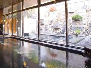 ◆大浴場【漱石】☆日毎の男女入替制ですので、夜・朝と2種類の浴場をお楽しみ下さい。