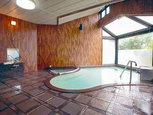 *大浴場/日本で初めての、地熱利用の天然温泉。