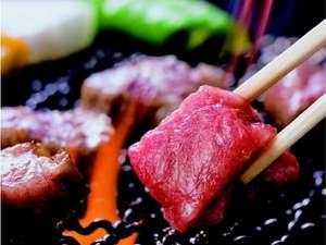飛騨牛サイコロステーキはじゅ~ッとお好みの焼き加減で(一例)