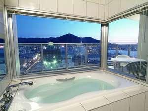 函館山を一望出来るビューバス(オーシャンスイート)