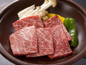 【熊野牛陶板焼き】熊野牛の美味しさを噛みしめてください!