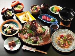 伊勢志摩に代表される料理の数々を巡る伊勢志摩紀行会席