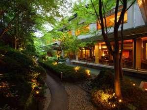 美しく幻想的な日本庭園