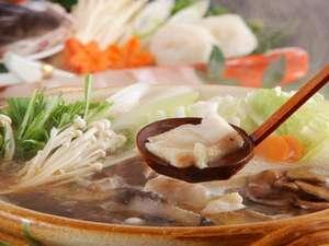 【クエ大鍋】コラーゲンたっぷりと食す。