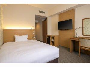 完全禁煙!リニューアル!信州山麓の新緑をイメージし、部屋全体も白を基調とした明るいイメージ