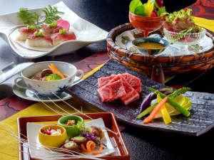 ■信州牛づくし■ 匠の技と四季の恵みが魅せる【純日本懐石】 信州が贈るまっすぐな旬味を存分に
