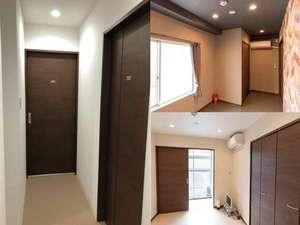 1室2部屋室内201 202