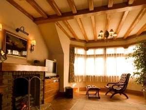 ヨーロピアン館モデレートツインルーム…43㎡の広々としたお部屋はお二人の大切な時間をはぐくみます。