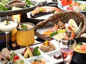 【秋】 「お料理満喫プラン」の献立一例