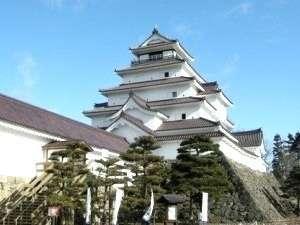 会津を代表する鶴ヶ城