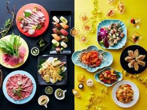 1/9~3/31までディナーブッフェ「和とチャイナフェア」を行っています。
