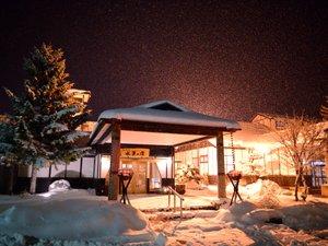 雪国の情緒あふれる「水軍の宿」