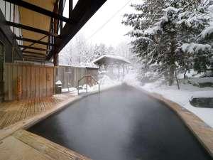 ※雪見の露天風呂